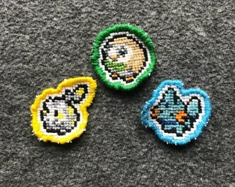 Starter Pokemon Pins