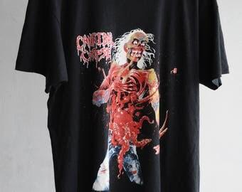 Vintage Cannibal Corpse 1992 tour T-Shirt XL