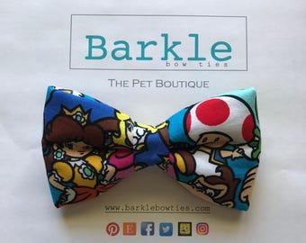 Mario Bros  Dog Bow Tie