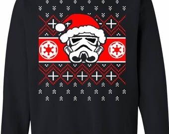 Darth Vader Ugly Christmas Sweater Unisex Crewneck Sweatshirt
