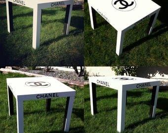 "Chanel logo vinyl decal 8""- 11"""