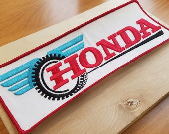 Honda 1970s Vintage Motorcycle Patch