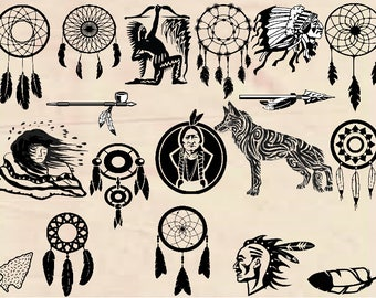 Native American SVG, American Indian svg, native american cutfile svg,  svg files for silhouette cameo, cricut explore, dxf file, indian,
