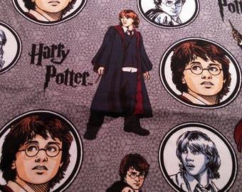 Harry Potter Fabric - 100% Cotton - 1 Yard