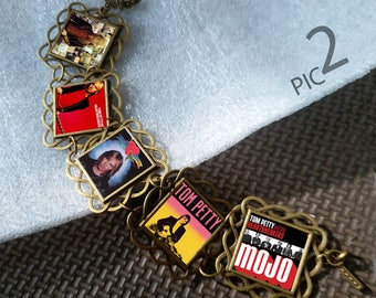 Tom Petty and The Heartbreakers Charm Bracelet