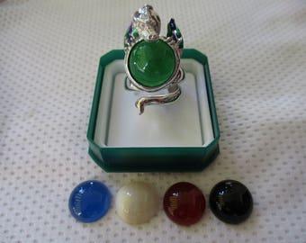 anello drago argento 925 - sterling silver 925 ring (dragon)