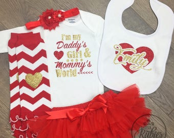 baby valentines outfit for baby girls valentines day outfits daddys valentine outfit for baby girl valentines
