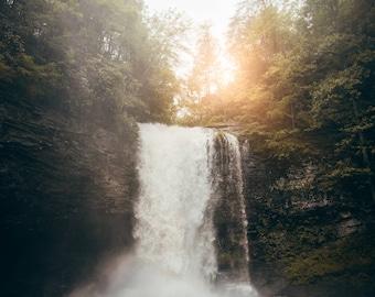 Georgia Photography Prints / Landscape Georgia Cloudland Canyon Waterfall / Georgia Print / Prints Wall Art / Fine Art Photography