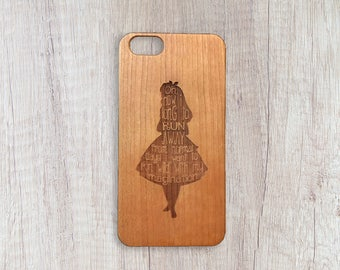 My Wild Imagination - Personalised Wooden Phone Case
