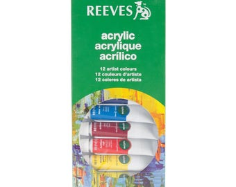 Reeves Acrylic Color Tube Set