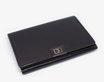 DUN Fold Minimalist Wallet | Black