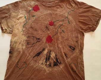 FEEL GOOD TSHIRT Tie Dye Flowers