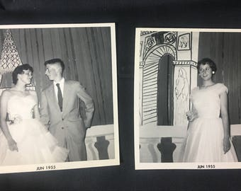1955 'One Night in Paris' Prom Photos