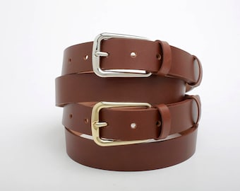 Leather Belt, Brown Leather Belt, Brown Leather Womens Belt