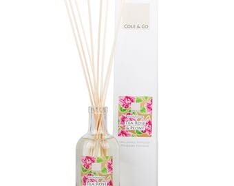 Welsh Feminine Tea Rose & Peony Home Fragrance Diffuser