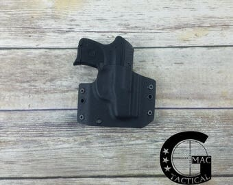 Ruger LCP 380 caliber Kydex Holster Outside Waistband