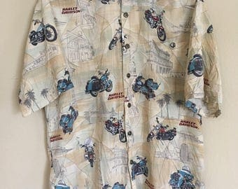 Harley Davidson Button up