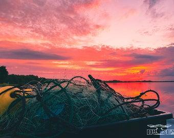 Topsail Island fisherman