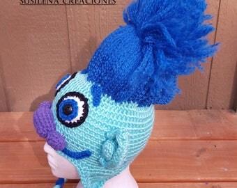 Trolls, Poppy Trolls, Movie trolls, Costume troll, Blue troll hat, Poppy troll, Trolls movie, Blue troll costume, Toddler hats, Handmade tro