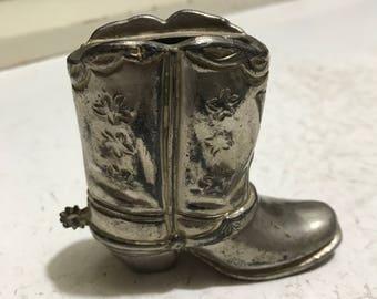 Vintage Boot Lighter Holder NO LIGHTER