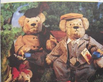 McCalls' Pattern  Elderbearies - all sizes Bear Pattern-never used