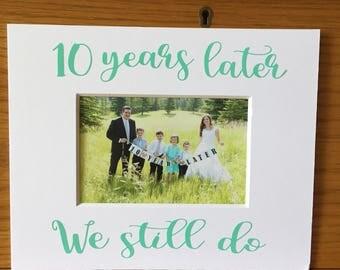 CUSTOM 8x10 photo mat, picture mat, 8x10 frame
