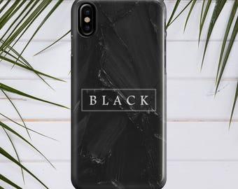 iphone x case BLACK ON BLACK iphone 7 case iphone 8 case iphone 8 plus case samsung s8 case samsung note 8 case 7