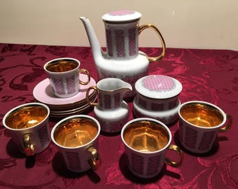 Porcelain Coffee Set Pirkenhammer