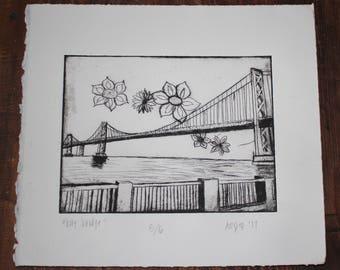 Bay Bridge Print 2