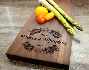 Personalized Cheese Board, Serving Board, Bread Board, Custom, Engraved, Wedding Gift, Housewarming Gift, Anniversary Gift, Engagement #3
