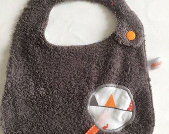 GRAY TRIANGLE N12 BIB