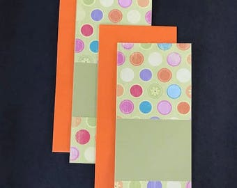 Stripes & Dots Note Cards