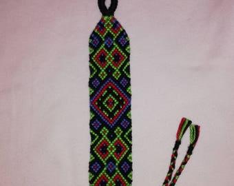 Braided bracelet, Knotted bracelet, Friendship bracelet, Bracelet bresilien,String bracelet, Handwoven bracelet, Wrist band,Bohemian style