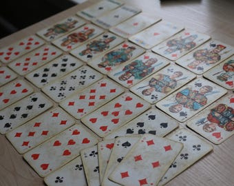 "Playing cards ""Slavs"" 36pcs."