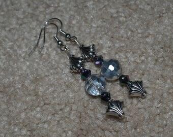 gothic disco earring