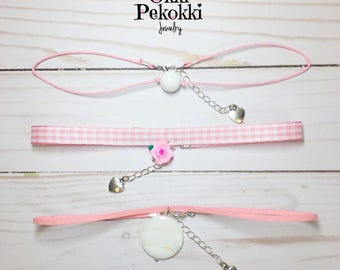 Light Pink Choker Set