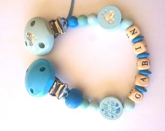 Custom monkey blue tie