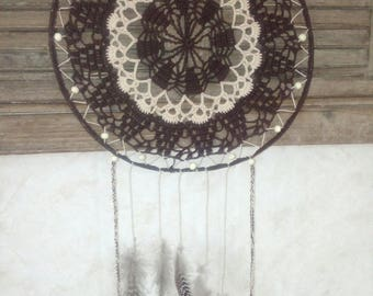 large dream catcher crochet handmade