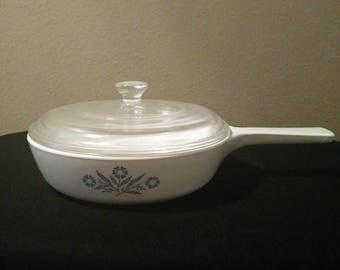 Vintage Corning Ware Saucepan
