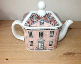 Collectible Vintage Carltonware Georgian House Teapot