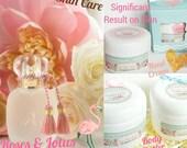 Rose & Lotus Perfume scent - Body Butter - Hand Cream - Foot Cream - Massage Balm - Organic Vegan Lotion - Paraben Free Skin Care Natural
