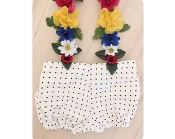 Short bloomers Polka