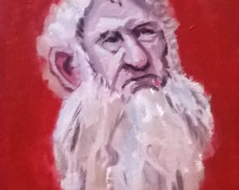 Hobbit Balin Oil Painting