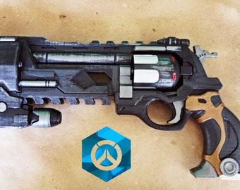 McCree Blackwatch Peacekeeper revolver prop from Overwatch. Prop / Replica / cosplay