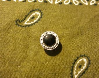 Vintage Black Dress Tie Pin