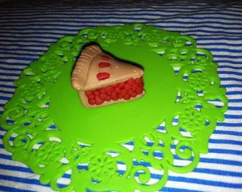 Cherry Pie Pendant Charm