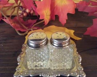 Fairy Brand Mini Salt and Pepper Shakers