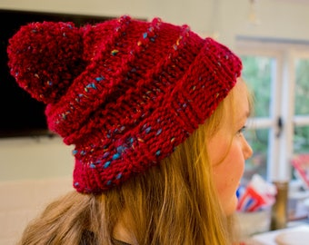 The Hotwells Hat- Chunky Knit Beanie