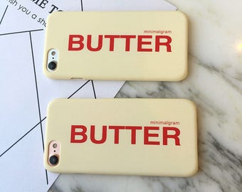 Butter iPhone Cases