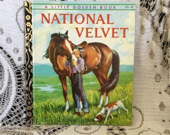 A Little Golden Book: National Velvet
